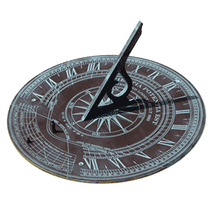 photo of a sundial
