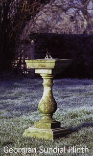 sundial plinth-Georgian