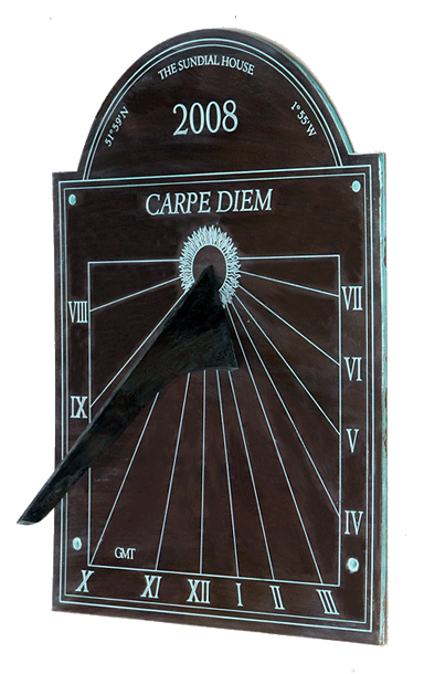 patinated sundial WD1